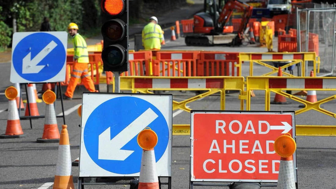 Major roadworks on Llantrisant Road - Radyr and Morganstown